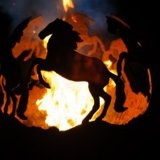 The Firepit Company - Prancing Horses Fire Pit