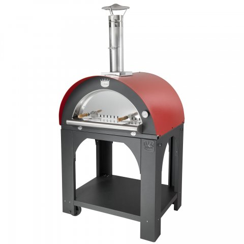 Clementi Pizza Ovens - 'PULCINELLA' Wood Fired - Medium (80x60cm)