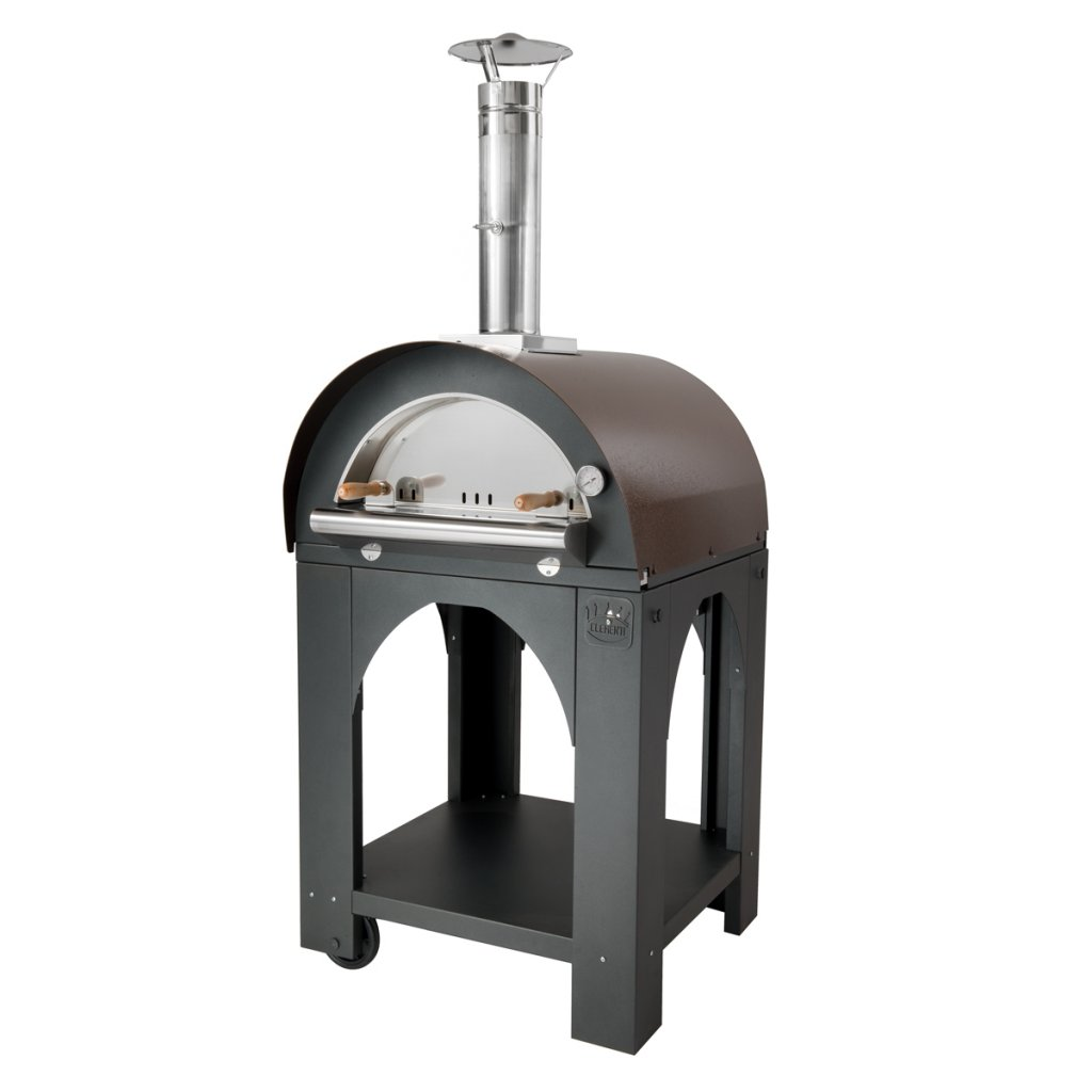 Clementi Pizza Ovens - 'PULCINELLA' Wood Fired - Small (60x60cm)