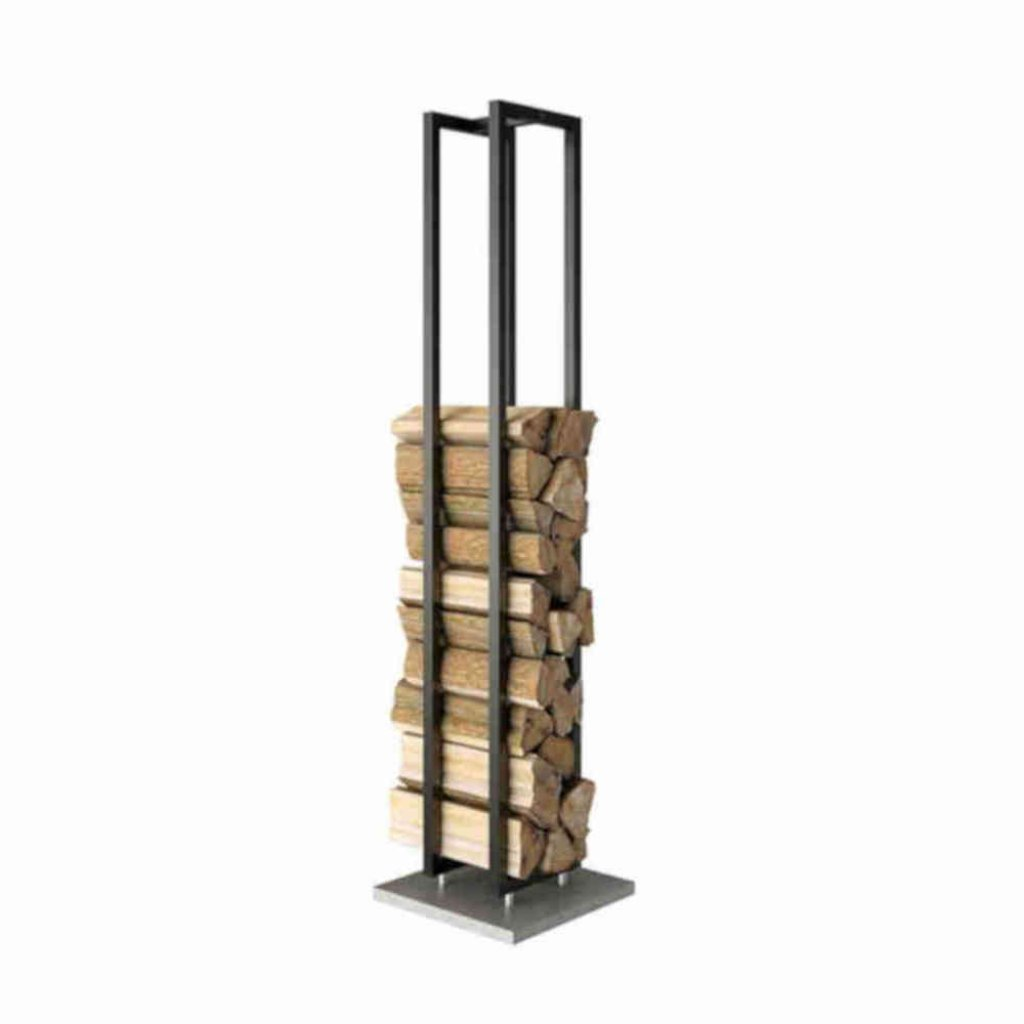 Rais Freestanding Wood Wall - 180cm storage