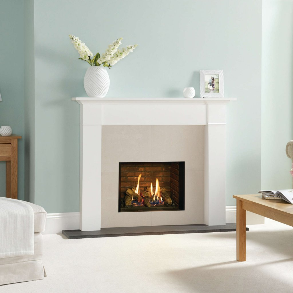 Gazco Gas Fires - Riva2 500 Edge Inset, Conventional Flue - Natural Gas