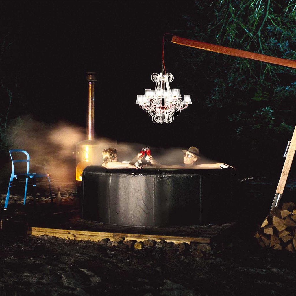 Fatboy Rockcoco LED Chandelier - Remote Control Included, Dimmable