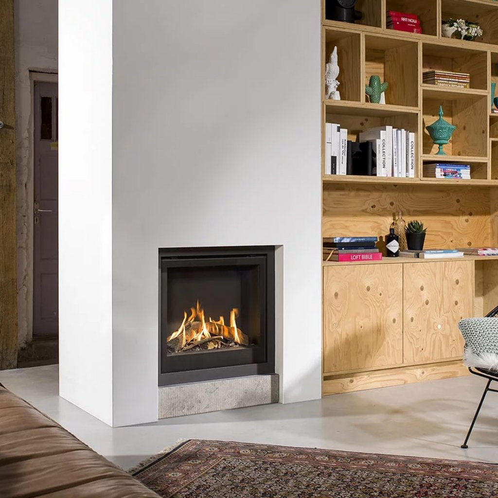 Bellfires Smart Bell 75-80 Gas Fire - Natural Gas - Balanced Flue