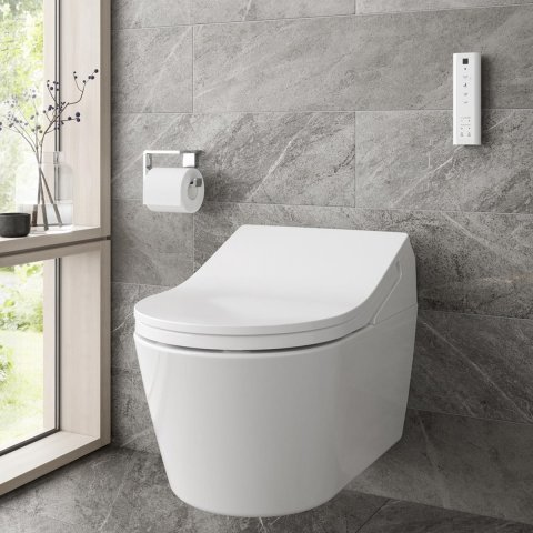 TOTO RX Washlet Smart Shower Toilet Bundle