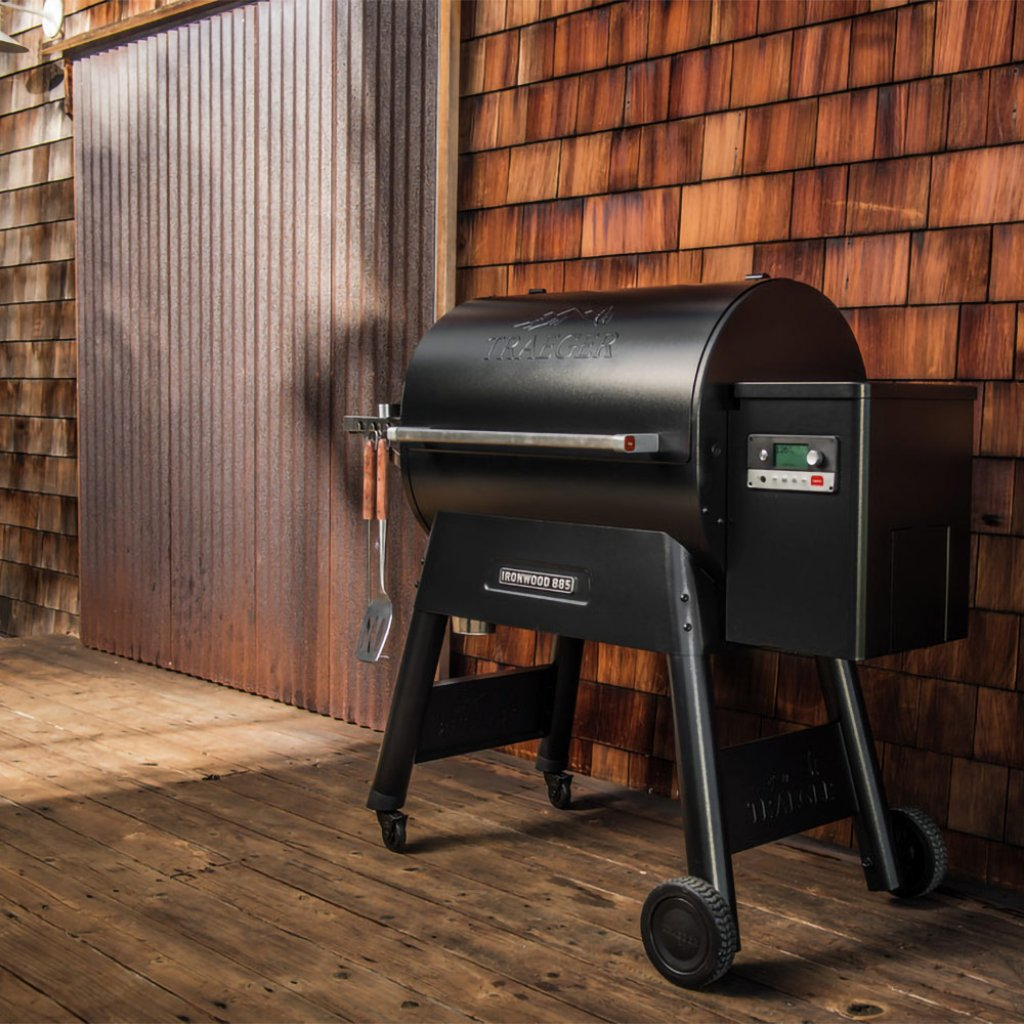 Traeger Ironwood 885 Wood Pellet Grill Smoker A Bell Barbecues Smokers
