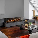 Bellfires View Bell 3 XL - Built-in 3 Sided Gas Fire - Natural Gas