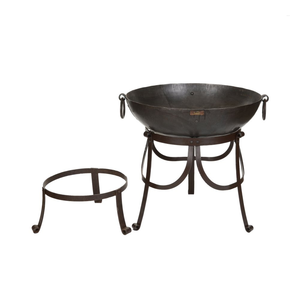 The Recycled Kadai Fire Pit - 60cm