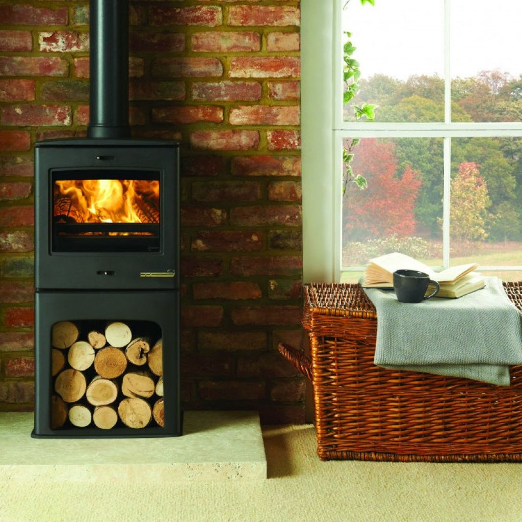 Yeoman CL5 Highline Single Door Multi Fuel Stove