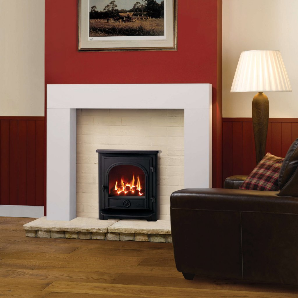 Yeoman Dartmouth Inset, Gas Fire, Conventional Flue - Natural Gas