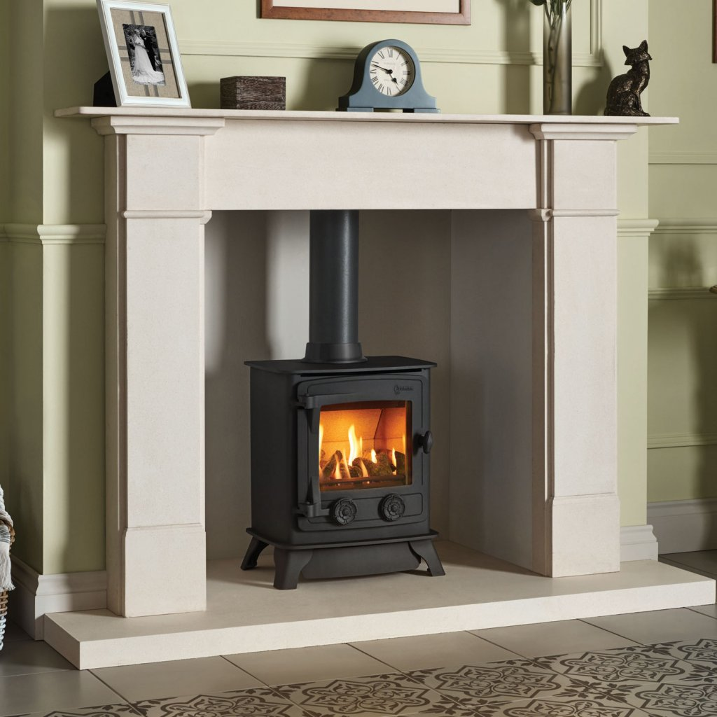 Yeoman Exmoor Gas Stove, Conventional Flue