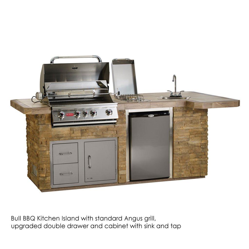 Outdoor Kitchen Islands - Bull BBQs BBQ Kitchen Island