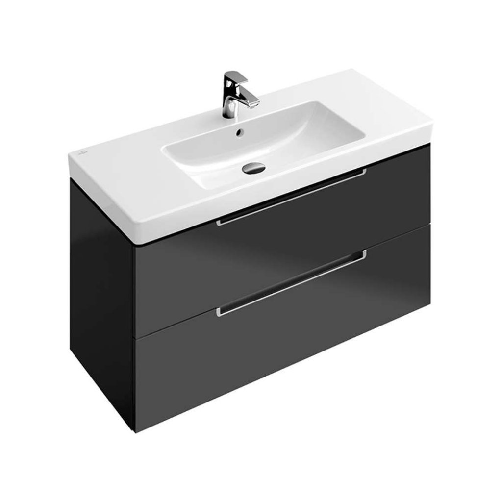 Villeroy & Boch Furniture, Subway 2.0 Vanity Unit 1000mm, 2 Drawers