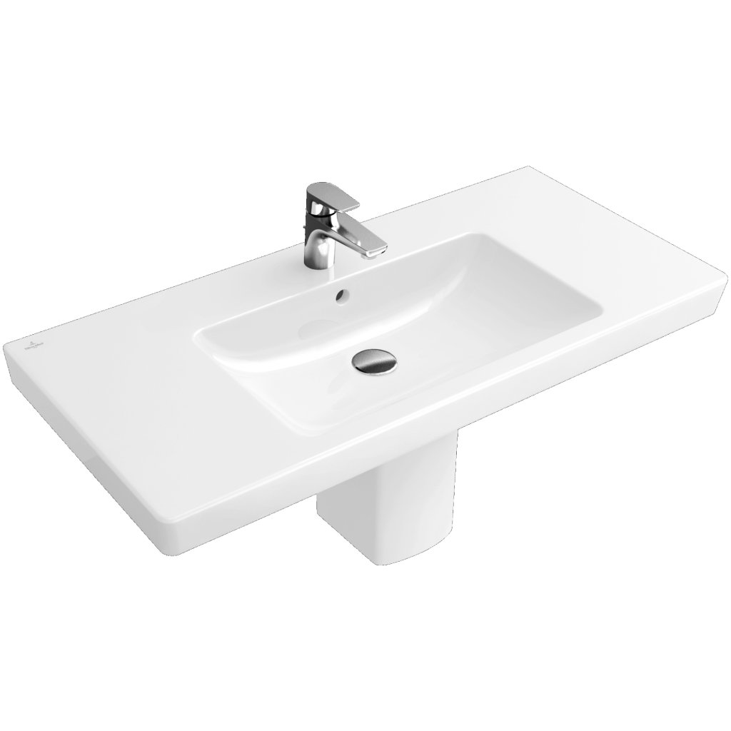 Villeroy & Boch Basins, Subway 2.0, 800x470mm Vanity Basin, Optional CeramicPlus