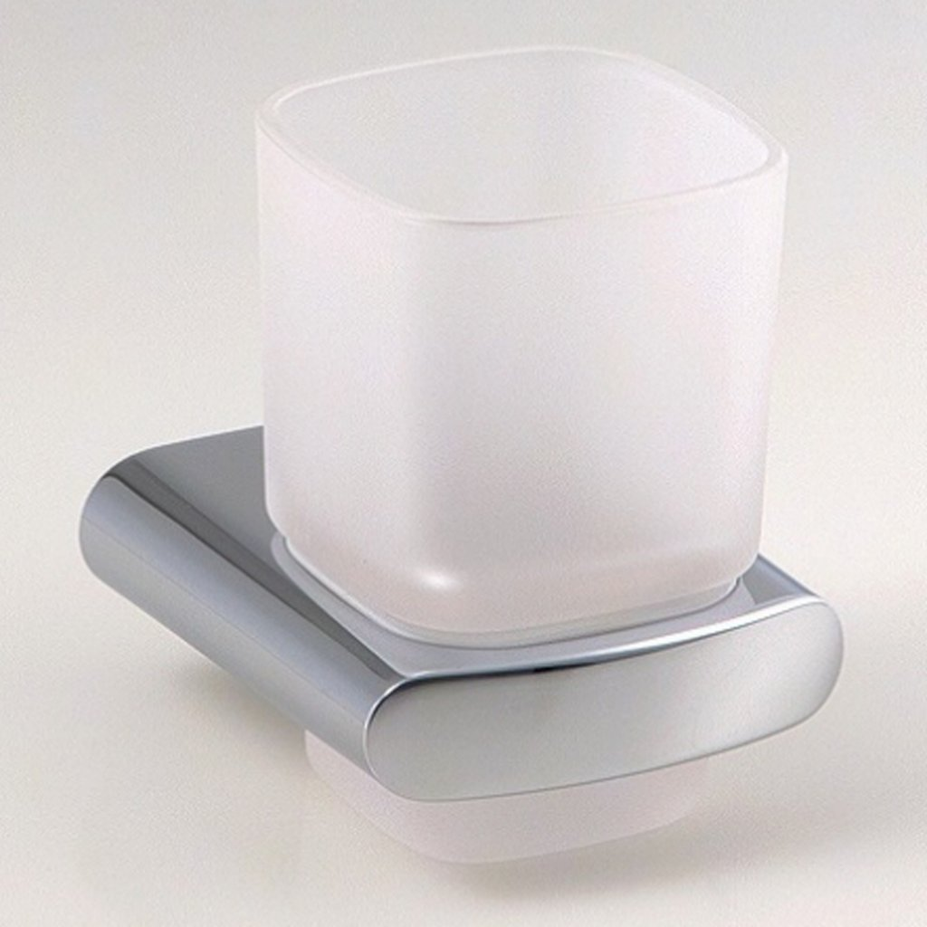 Keuco Elegance Tumbler Holder with Crystal Glass