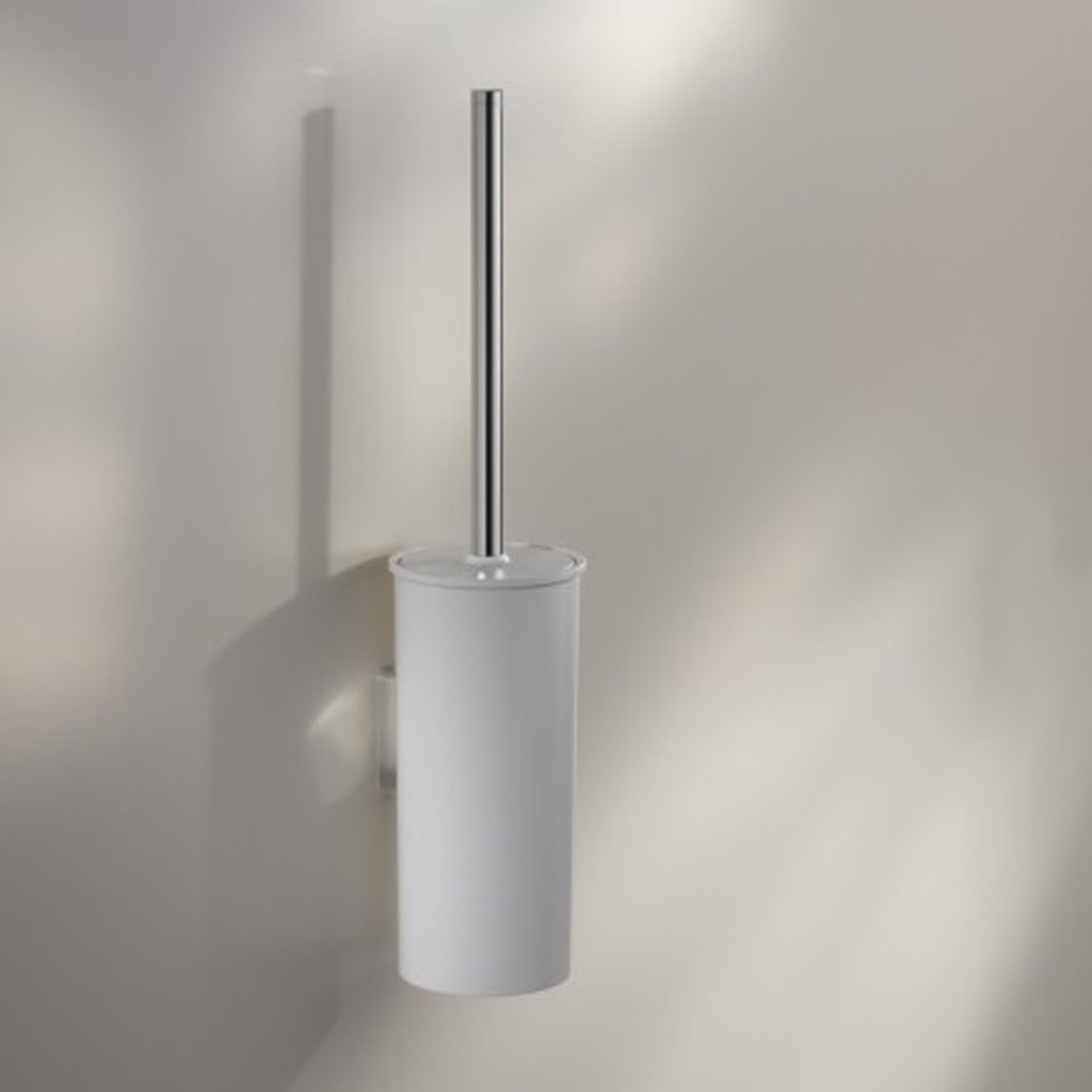 Keuco Moll Toilet Brush Set - In White Or Anthracite