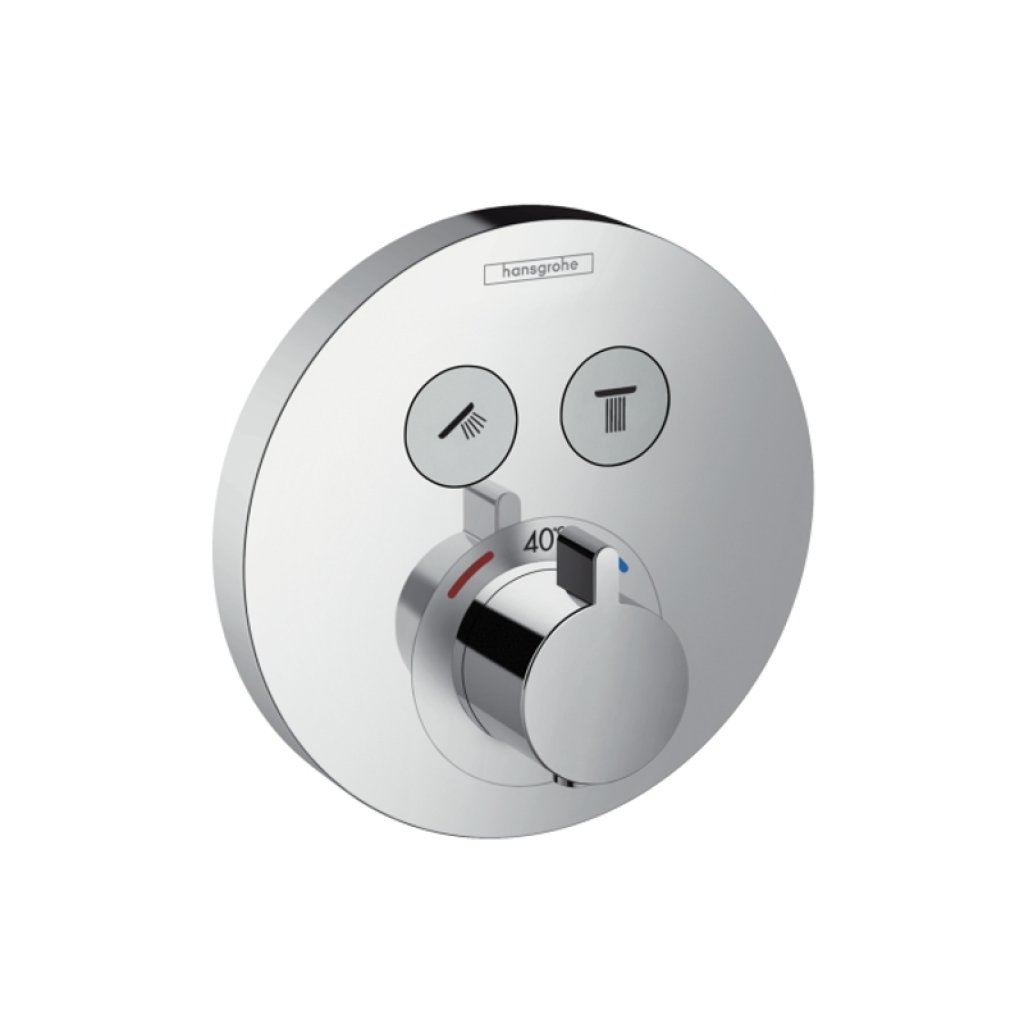 Hansgrohe ShowerSelect S Highflow Thermostatic Mixer 1 Outlet