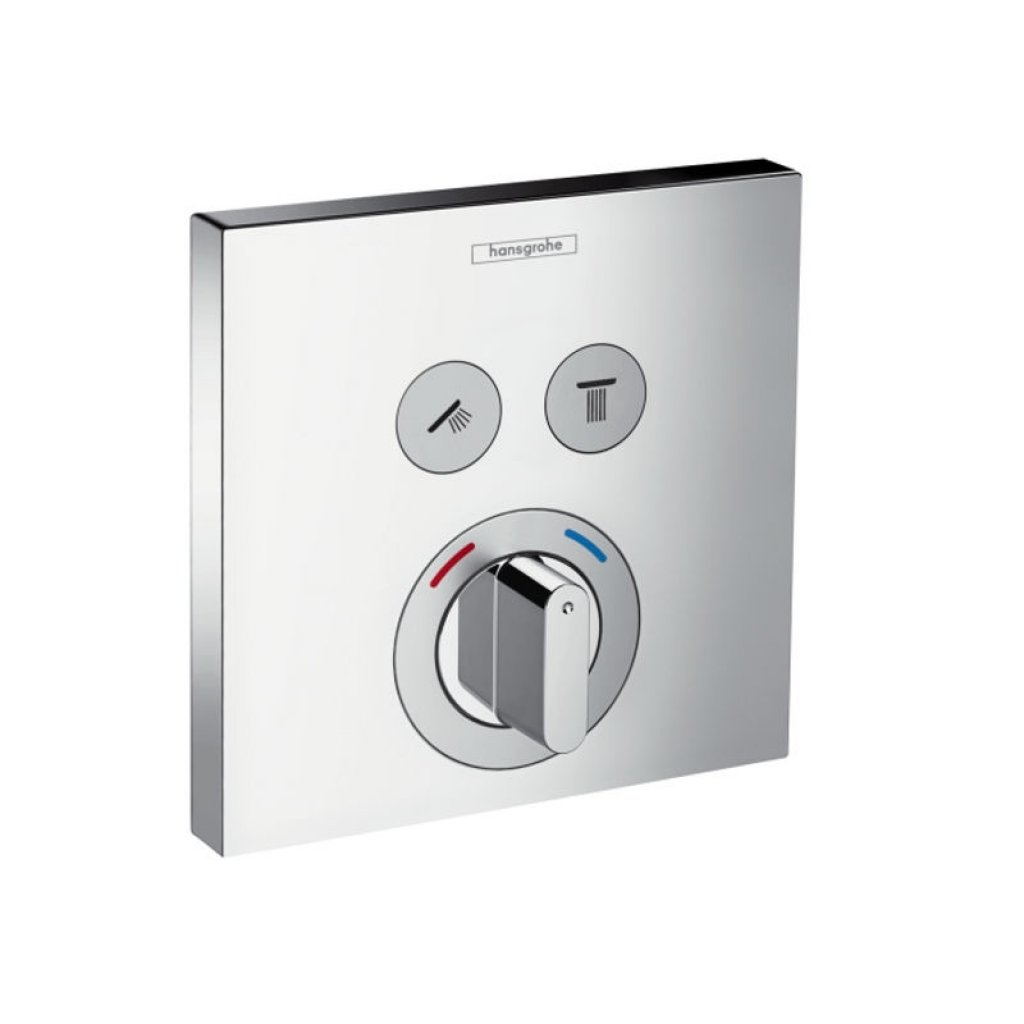 Hansgrohe ShowerSelect Mixer With 2 Outlets