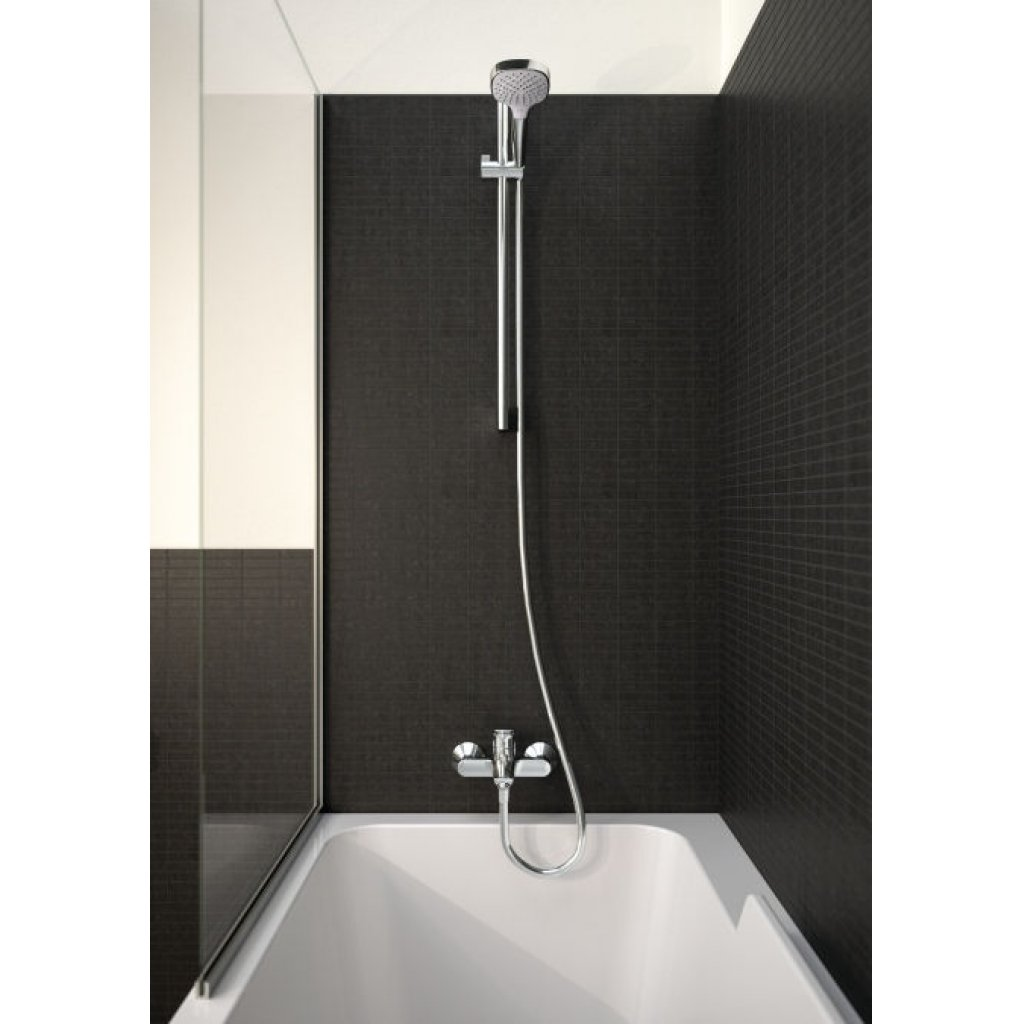 Hansgrohe Croma Select E Vario Shower Set With 0.65m Wall Bar