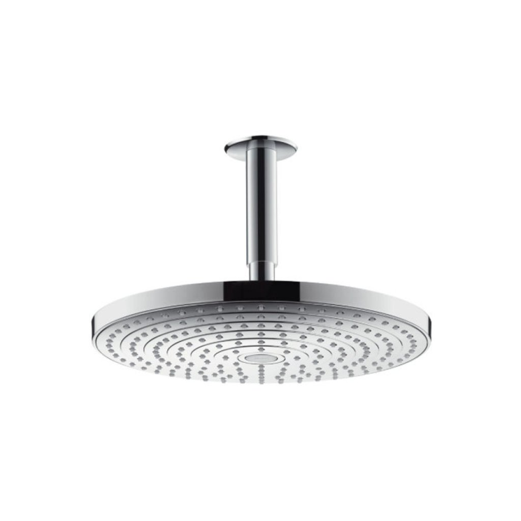 Hansgrohe Raindance Select S 300 2jet Shower - With 100mm Overhead Connection