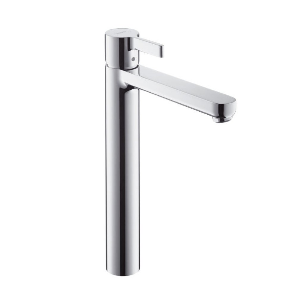 Hansgrohe Metris S Highriser Basin Mixer With 189mm Spout