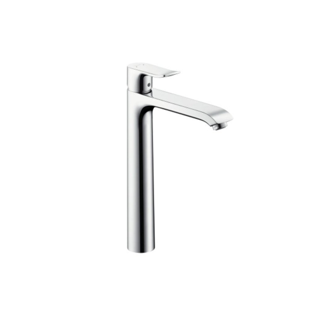 Hansgrohe Metris Highriser Basin Mixer For Wash Bowls 197mm Spout