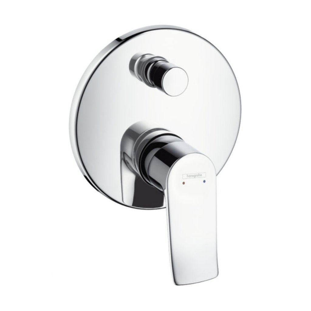Hansgrohe Metris Single Lever Bath and Shower Mixer - For Concealed Installation