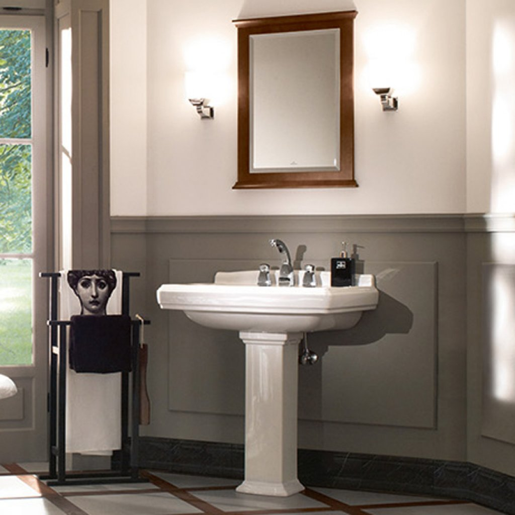 Villeroy & Boch Hommage Wash Basin With Pedestal