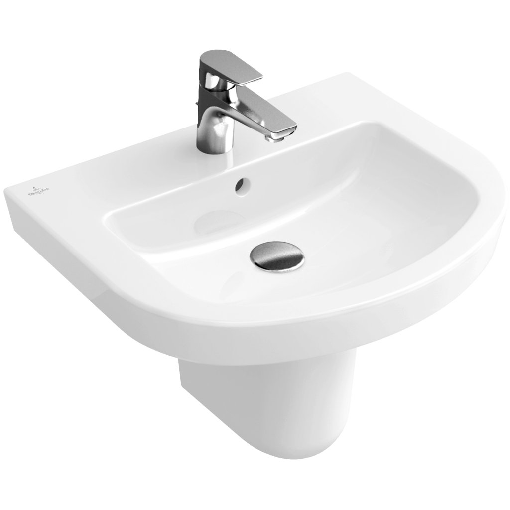 Villeroy & Boch Basins -  Subway 2.0 Hand Wash Basin With Overflow 650x490mm