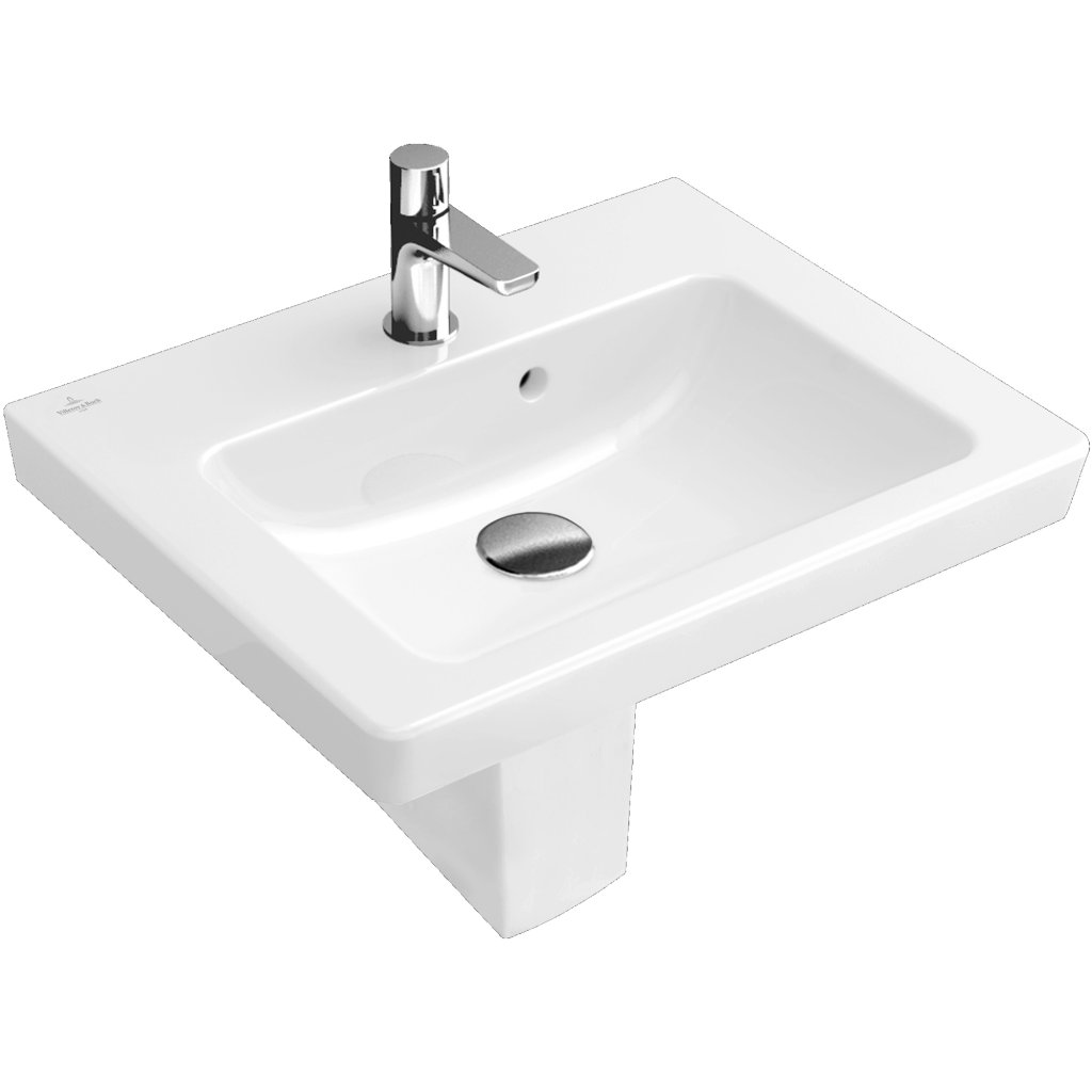 Villeroy & Boch Subway 2.0 Hand Wash Basin With Overflow 450x370mm