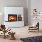 Scan 5002 Inset Wood Burning Stove