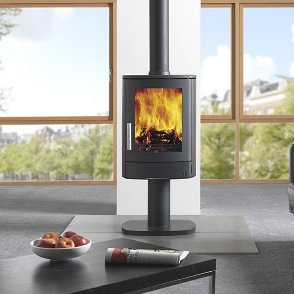 ACR NEO 1 Multi Fuel Stove, Available in Matt Black Only