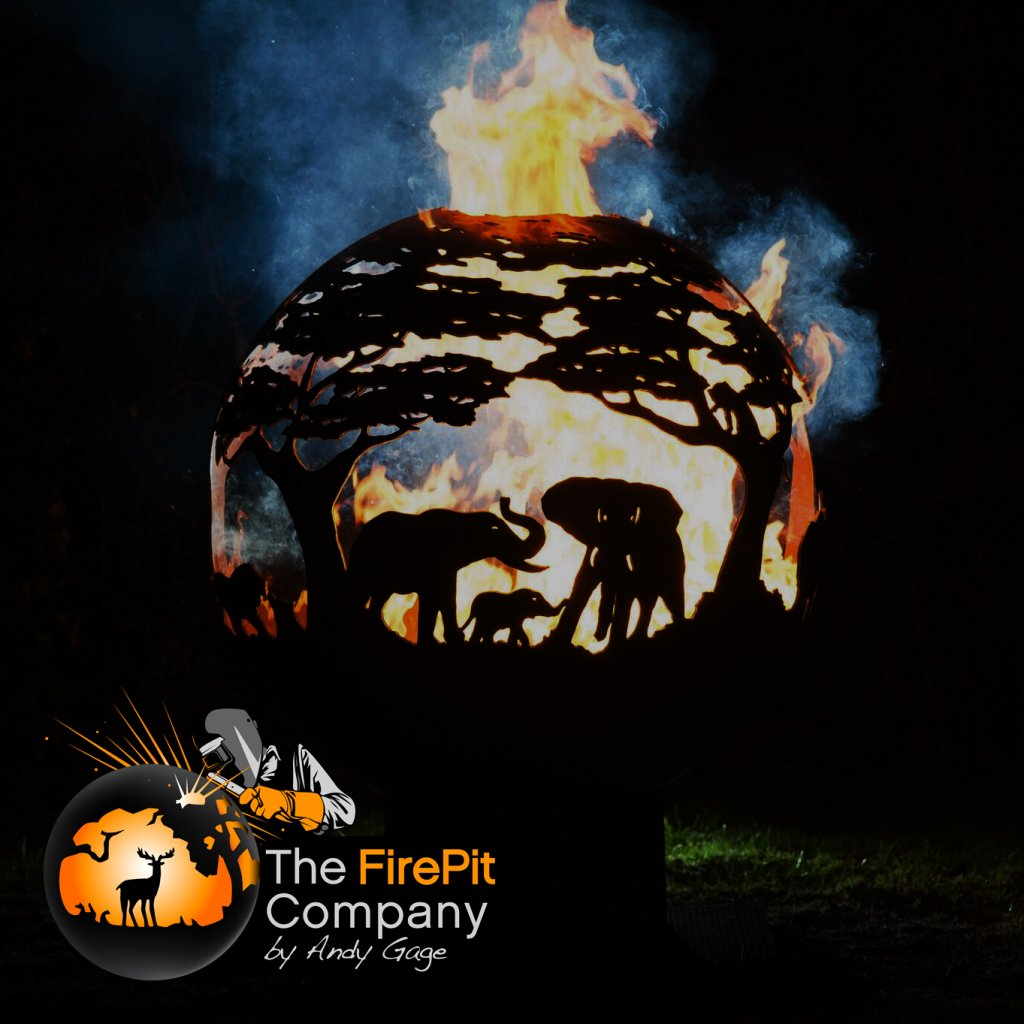 Fire Pits - The FirePit Company - Africa Fire Pit - Available In Three Sizes