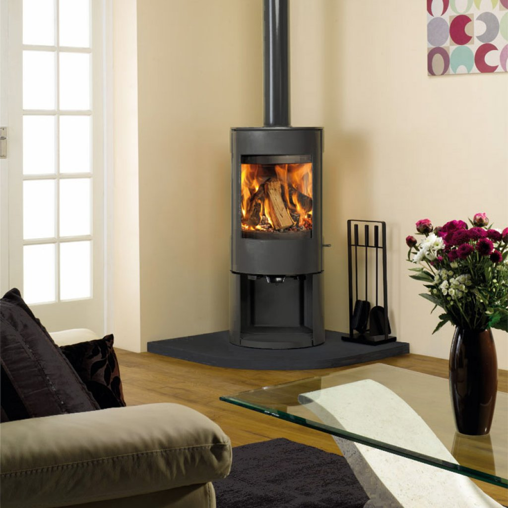 Dovre Astroline 3CB Multi Fuel Stove With Optional Base