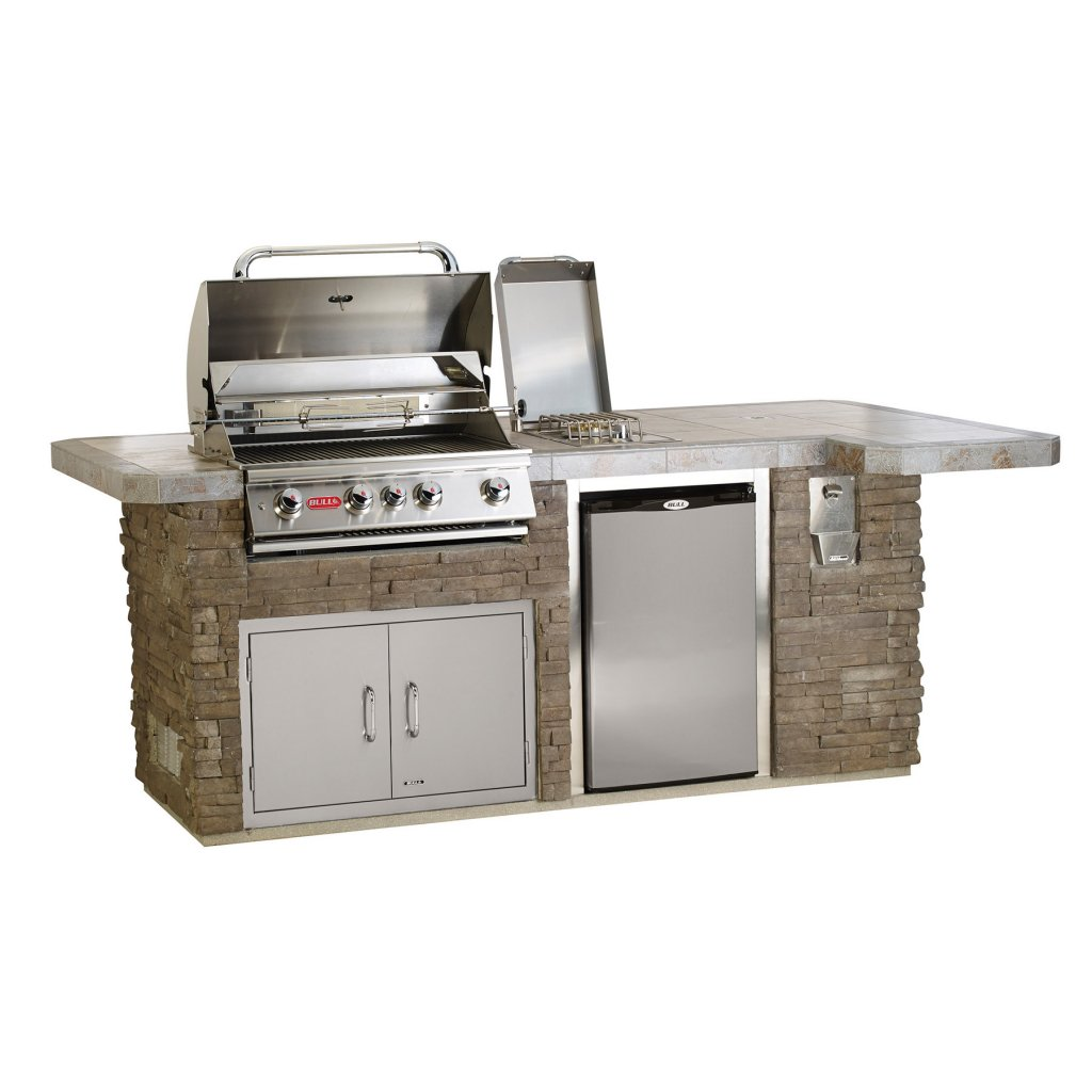 Kitchen Island Accessories: Outdoor Kitchen Islands - Bull BBQs BBQ Kitchen Island