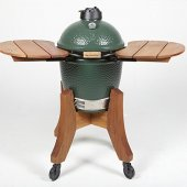 Big Green Egg Medium Royal Mahogany Shelves