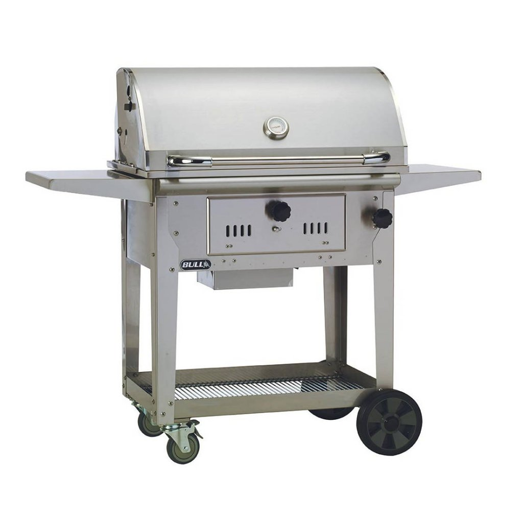 Bull BBQs - Bison Charcoal Cart - Stainless Steel Construction
