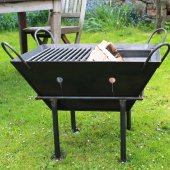 Bell Fire Pits - Box C Including Stand and Cooking Grid