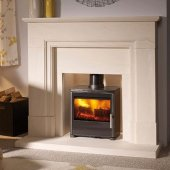 Capital Fireplaces Qube 450 Multi Fuel Stove