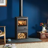 Yeoman CL5 Midline Gas Stove, Balanced Flue With Log Fuel Effect