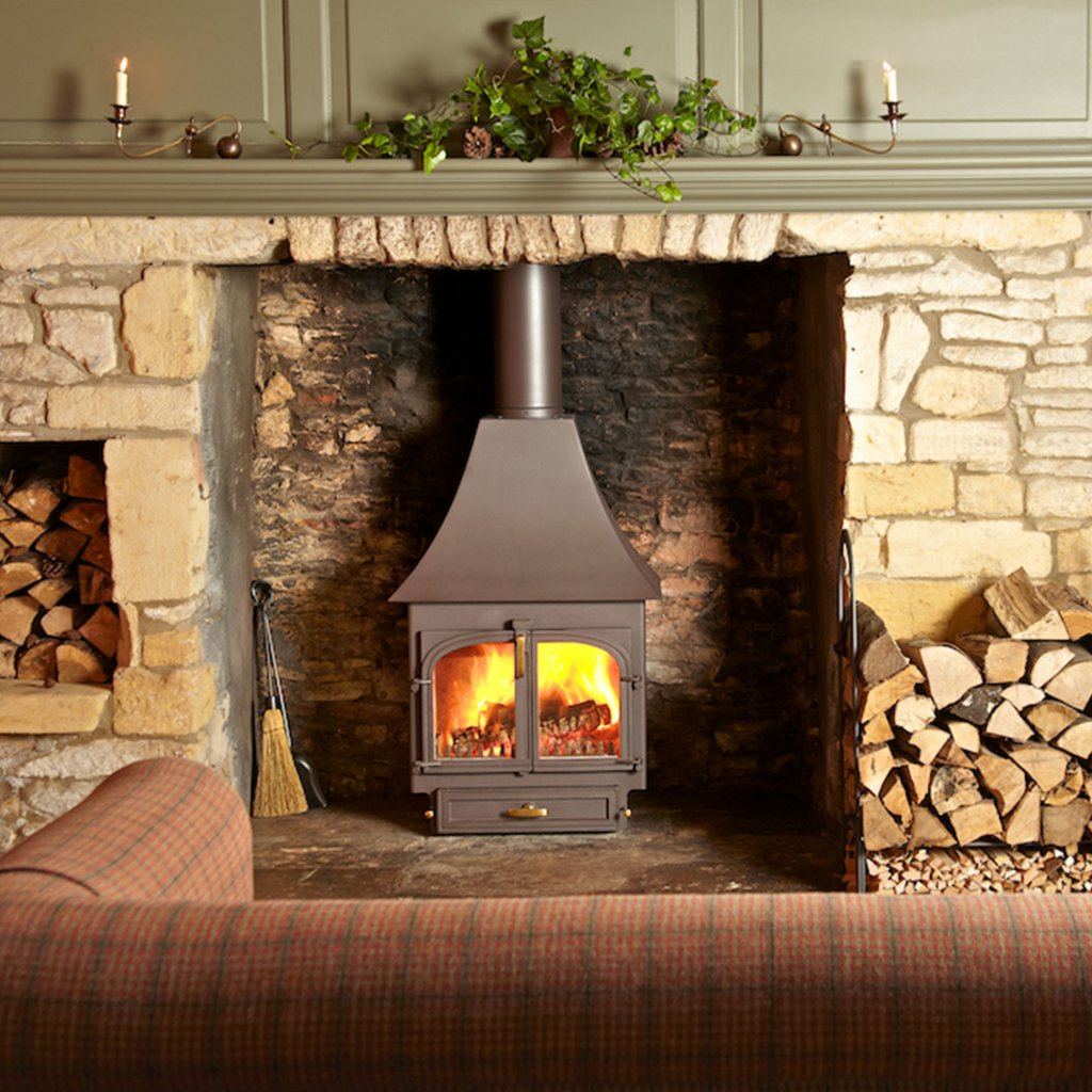 Clearview 650 High Canopy Multi Fuel Stove