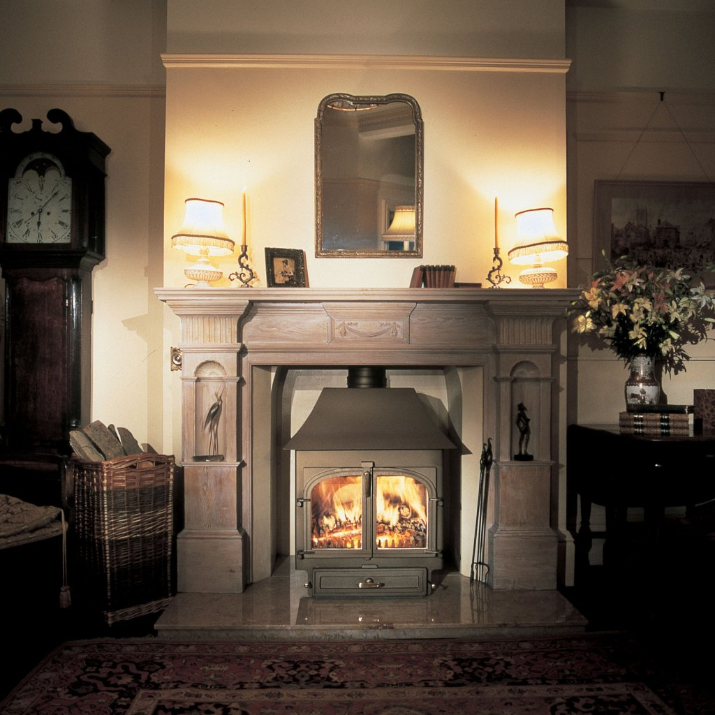 Clearview 650 Low Canopy Multi Fuel Stove