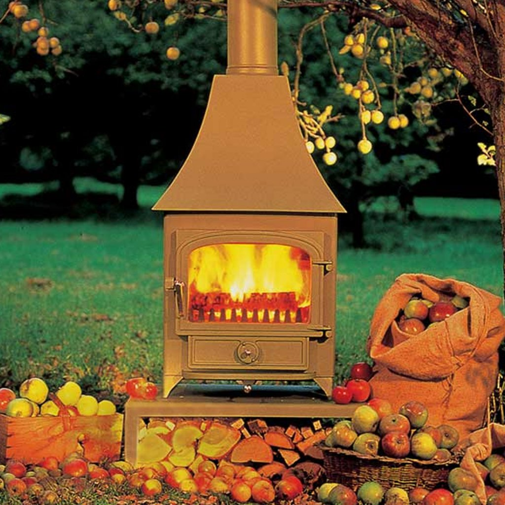 Clearview Vision 500 Multi Fuel High Canopy Stove