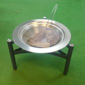 Fire Pit, Dancook Fireplace 9000 Fire Pit, Stainless Steel Construction