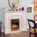 Dimplex Optiflame Danesbury Brass Inset Electric Fire