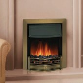 Dimplex Optiflame Danesbury Antique Brass Inset Electric Fire