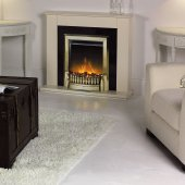Dimplex Optiflame Exbury Antique Brass Inset Electric Fire