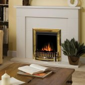 Dimplex Optiflame Exbury Brass Inset Electric Fire