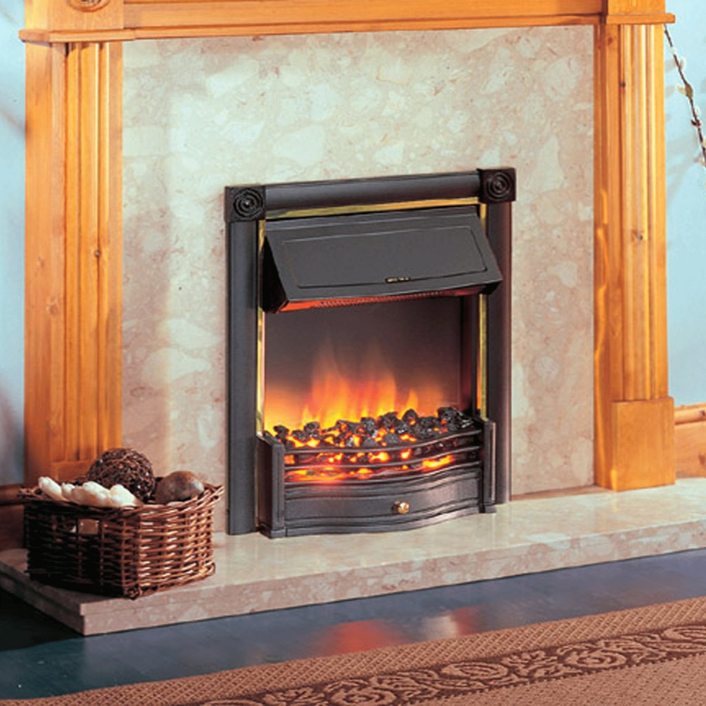 Dimplex Optiflame Horton Black Inset Electric Fire