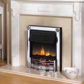Dimplex Optiflame Horton Chrome Inset Electric Fire