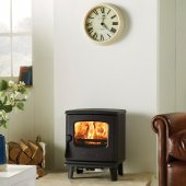 Dovre 225 Single Door Multi Fuel Stove - In Anthracite